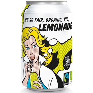 LEMONIADA FAIR TRADE BIO 330 ml (PUSZKA) - OXFAM