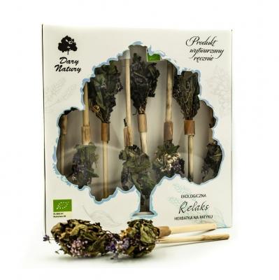 Herbatka na patyku relaks eko 8 szt