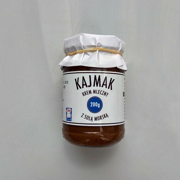 Kajmak z solą morską (mały)200 g