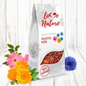 Płatki MIX Kwiaty Jadalne 10 g