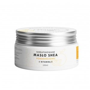 Masło SHEA Pomarańczowe z wit,E 100 ml