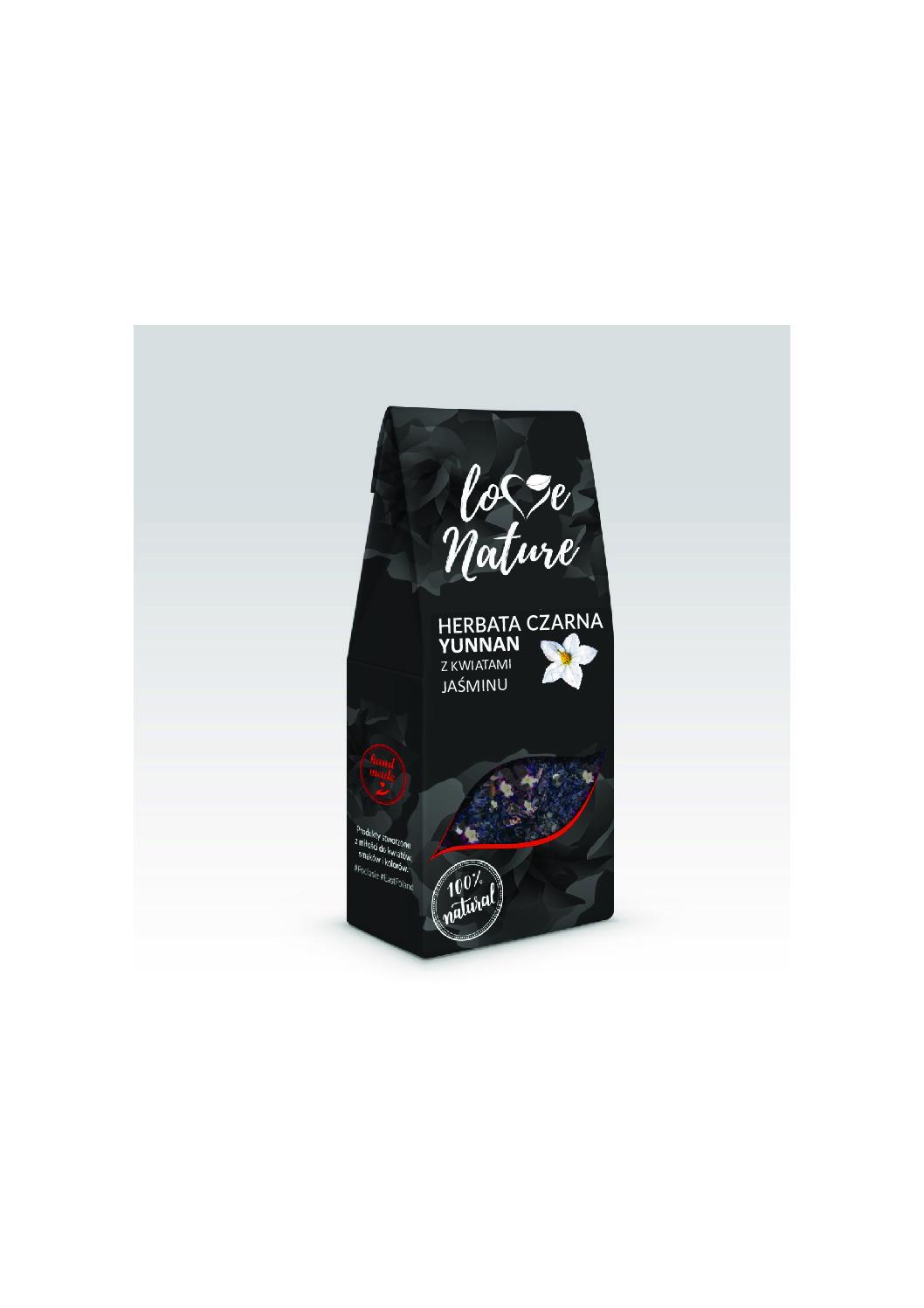 Herbata czarna YUNNAN jaśminowa 80G
