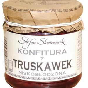 Konfitura z truskawek niskosłodzona 200 g