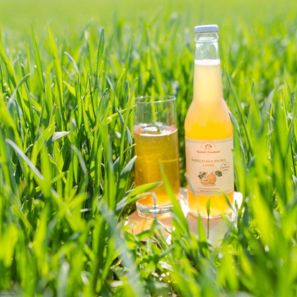 Lemoniada pigwowa Bąbelkowa Pigwa z Miętą