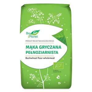 Mąka gryczana pełnoziarnista BIO 500 g