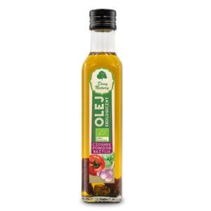 Olej czosnek pomidor bazylia EKO 250ml