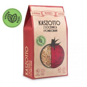 Kaszotto z soczewicą i pomidorami200g