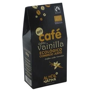 Kawa mielona z wanilią 125g BIO