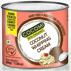 Krem kokosowy do ubijania BIO 200g