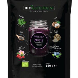 Ekologiczny mix superfoods FOREVER YOUNG (Młodość Piękno) 150 g