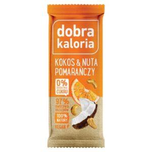 Baton owocowy Kokos z nutą pomarańczy 35g