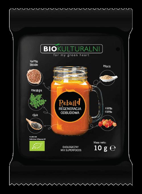 Ekologiczny mix superfoods REBUILD (Regeneracja Odbudowa) 10 g