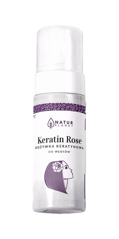 KERATIN ROSE - Odżywka Keratynowa do włosów 100ml