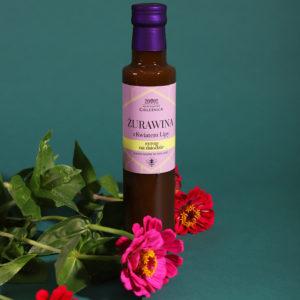 Syrop żurawinowy z kwiatami lipy z miodem 230ml