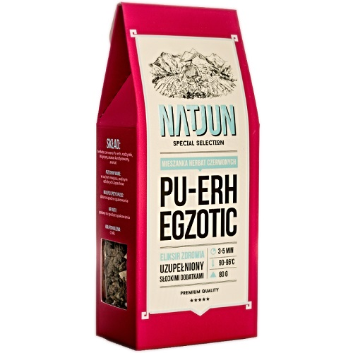 Herbata czerwona Pu-erh Egzotic 80g