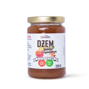 Dżem jabłko cynamon (bez dodatku cukru) 220g - promocja - krótki termin