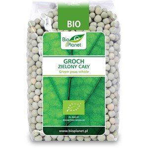 Groch zielony cały BIO 400 g