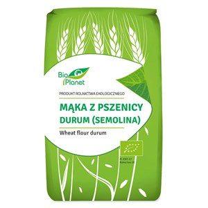 Mąka z pszenicy durum (semolina) BIO 500g