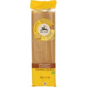 Makaron (semolinowy razowy) spaghetti BIO 500g