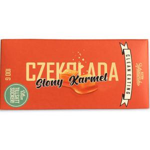 Czekolada słony karmel (bez dodatku cukru) 100g