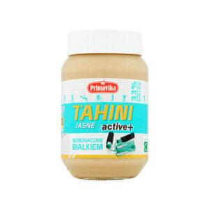 Tahini jasne active + wzbogacone białkiem 470g