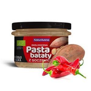 Pasta z soczewicy i batatów z chilli 185g