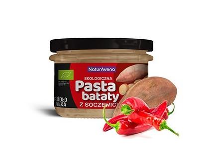 pasta babat soczewica chili