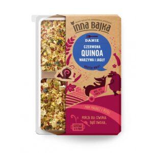 Quinoa czerwona warzywa i jagły 250g