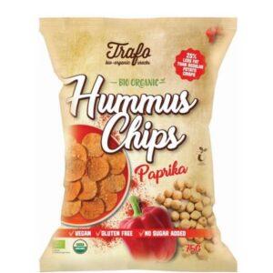 Chipsy z ciecierzycy paprykowe BIO 75g