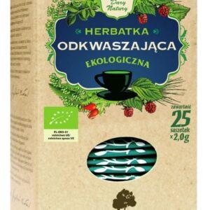 Herbata odkwaszająca ziołowo-owocowa EKO (25x2g) ekspresowa