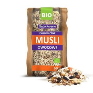 Musli owocowe bio 600g