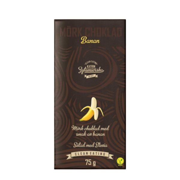 Czekolada gorzka - banan 75g