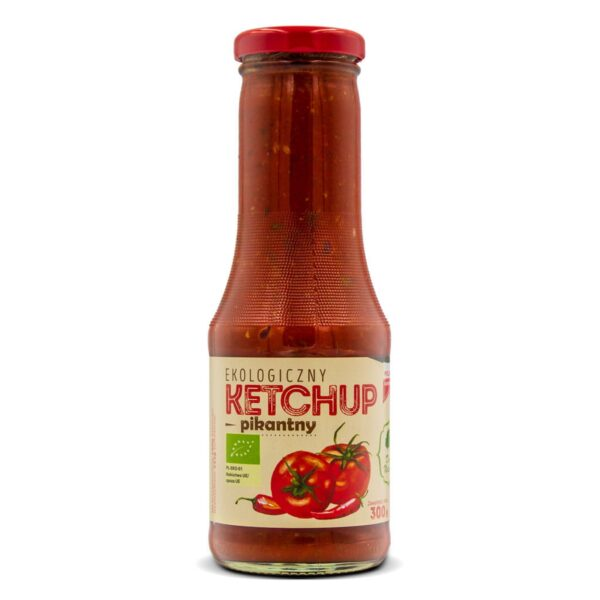 Ketchup pikantny eko 300g