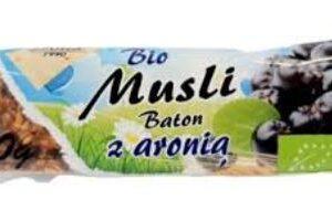 Bio baton musli aronia 40g