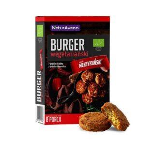 Burger wegetariański meksykański - 8 porcji - 200g