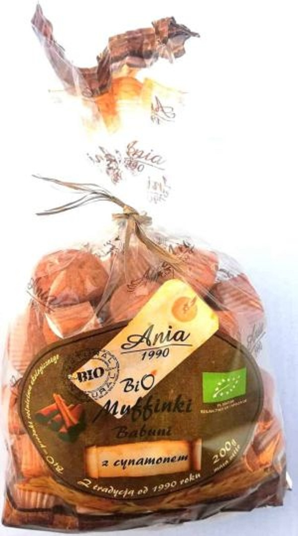 Bio muffinki cynamon 200g PROMOCJA KRÓTKI TERMIN