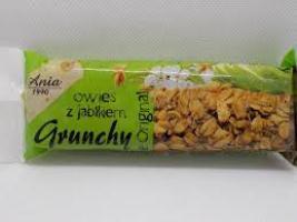 Baton Grunchy Owsiany z jabłkiem 65g