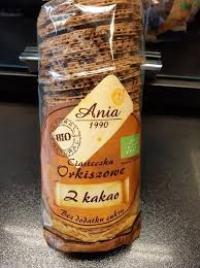 Ciasteczka Orkiszowe z Kakao120g PROMOCJA KRÓTKI TERMIN