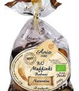Bio muffinki naturalne 200g - krótki termin