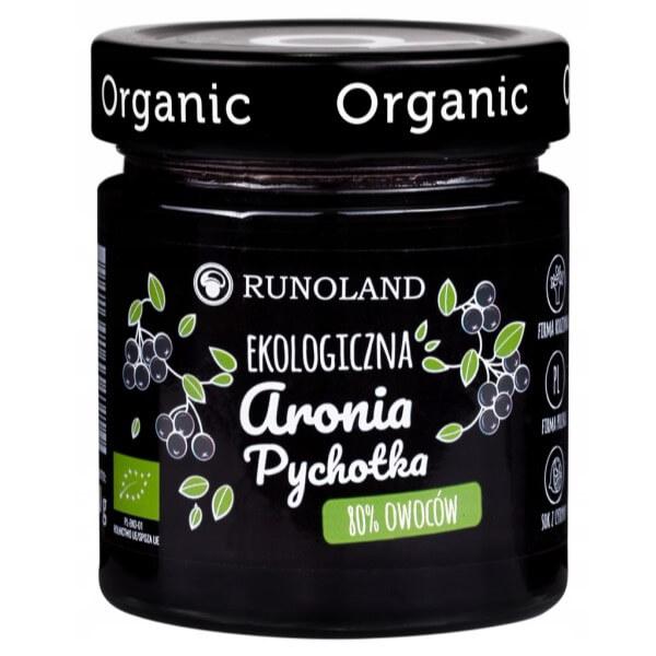 EKO Ekologiczna Aronia Pychotka 80% owoców 200g