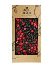 Czekolada ciemna z porzeczkami - bean-to-bar 100g