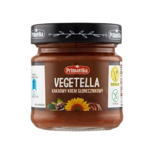 Vegetella – kakaowy krem słonecznikowy 160g
