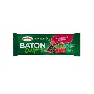 Baton daktylowy z malinami i kakao 40g