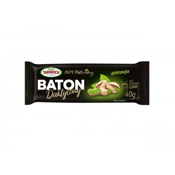 Baton daktylowy z pistacją 40g